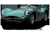 Aston Martin DBR1 Roadster 1958