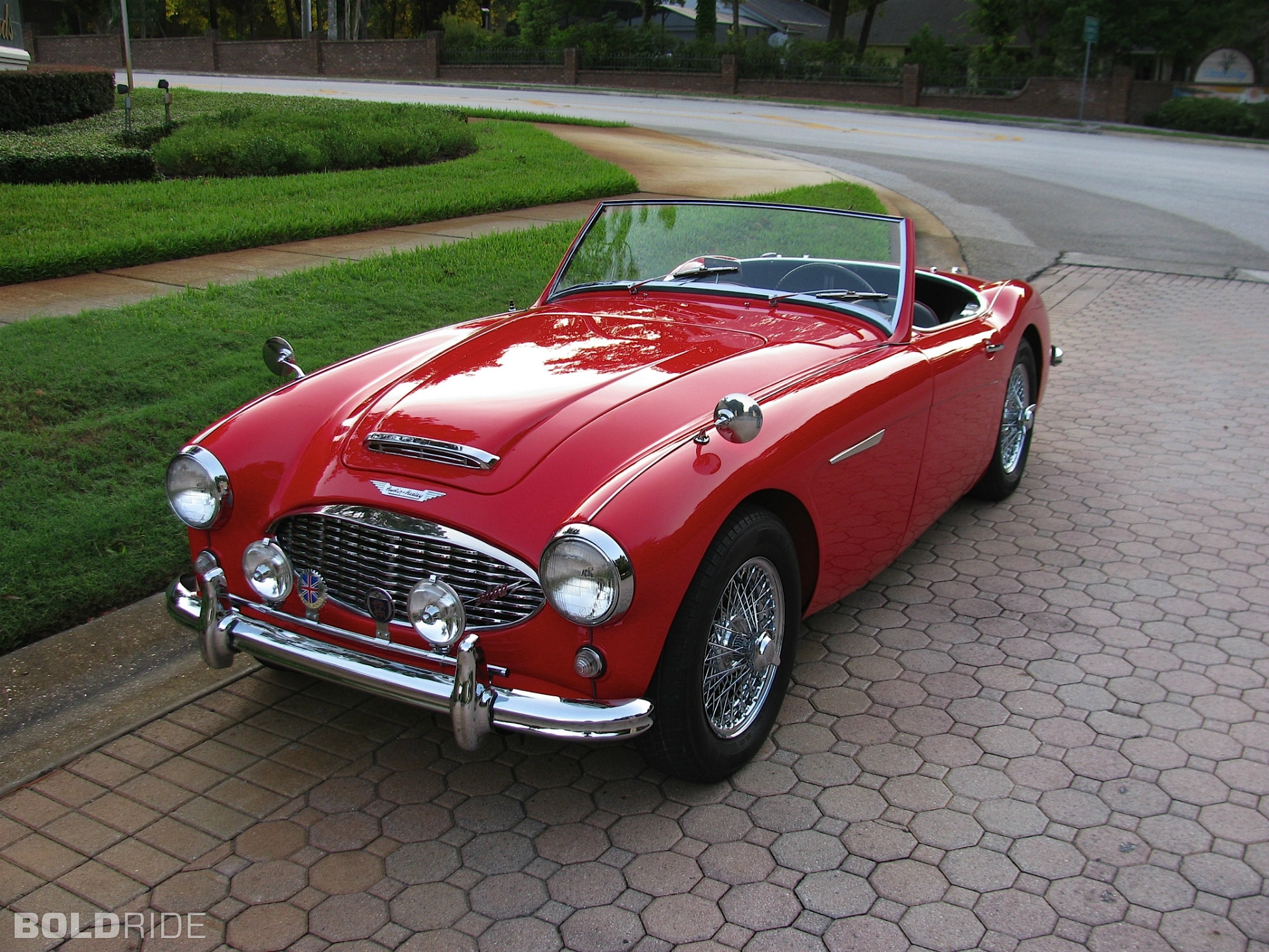 3dtuning of austin healey 3000 convertible 1959 3dtuning. Black Bedroom Furniture Sets. Home Design Ideas