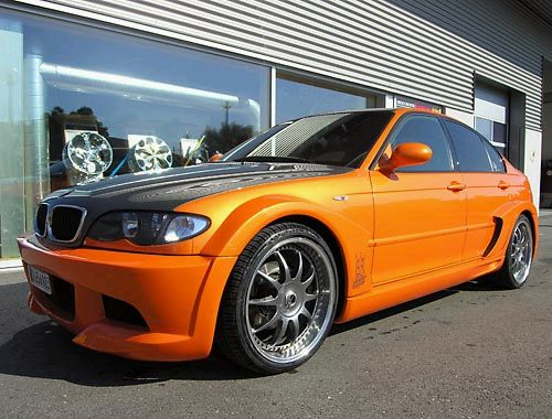 My perfect BMW 3 series (facelift). 3DTuning - probably the best car configurator!