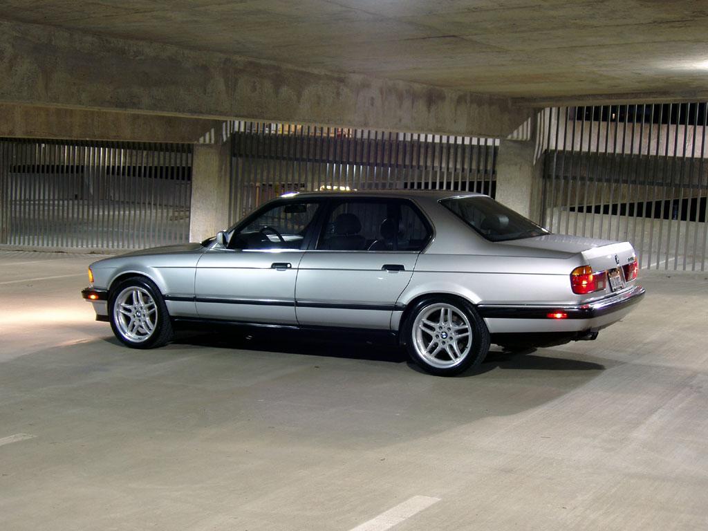 BMW 7 Series Sedan 1986