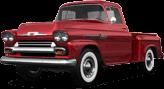 Chevrolet Apache Stepside 2 Door pickup truck 1959