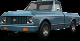 Chevrolet C-10 Cheyenne 2 Door pickup truck 1972