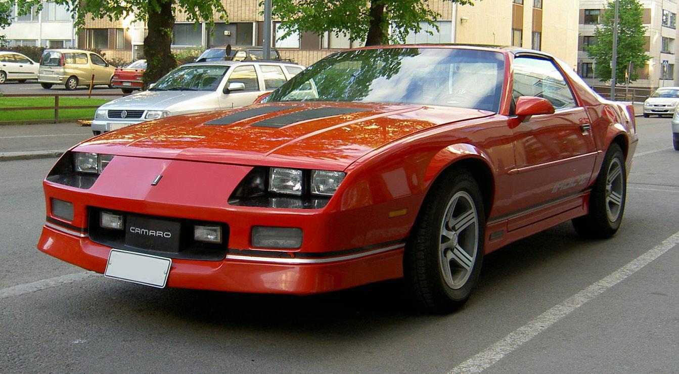 Iroc Camaro  Cars Pictures