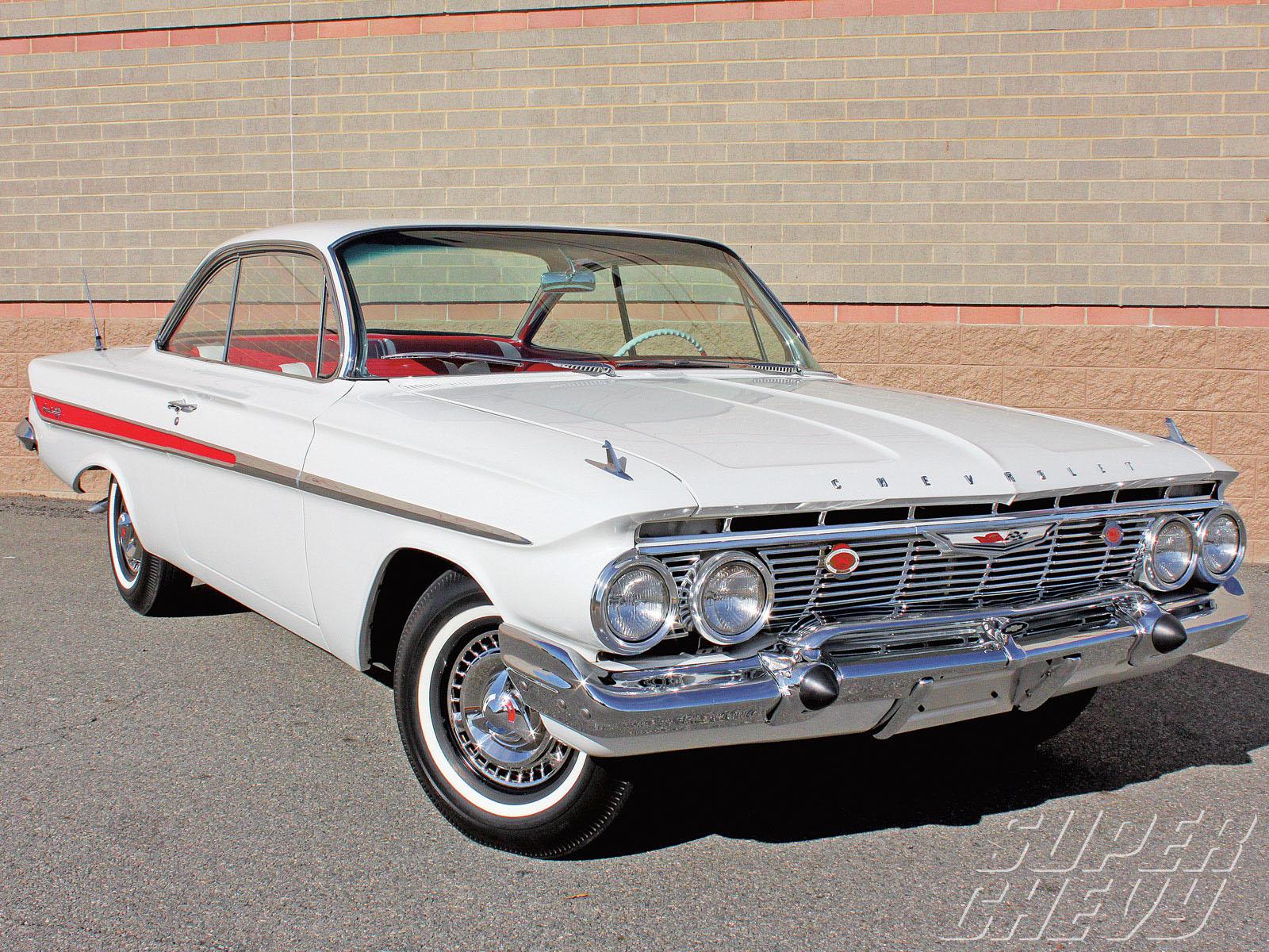 chevrolet impala coupe 1961