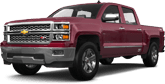 Chevrolet Silverado 1500 4 Door pickup truck 2014