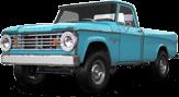 Dodge Power Wagon W200 2 Door pickup truck 1966