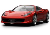 Ferrari 458 Spyder Coupe Convertible 2012