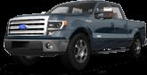 Ford F-150 Crew Cab 4 Door pickup truck 2013