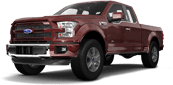 Ford F-150 SuperCab Truck 2015