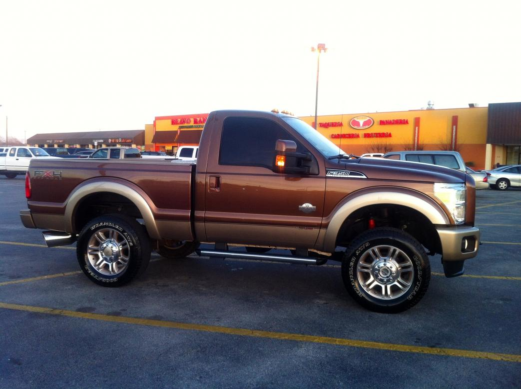 My perfect Ford F-250 Regular Cab. 3DTuning - probably the best car configurator!