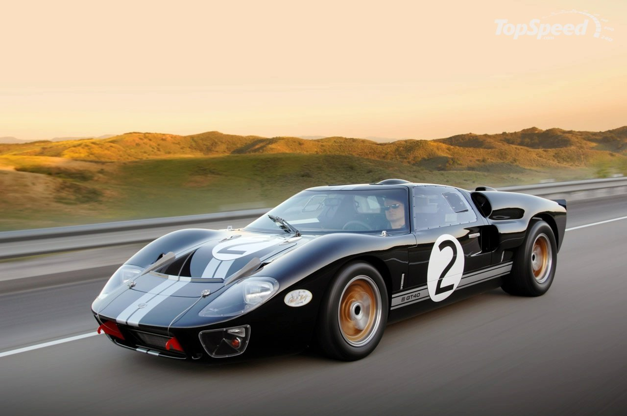Ford GT40 MKII Coupe 1966