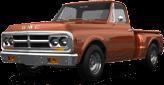 GMC K1500 2 Door pickup truck 1971