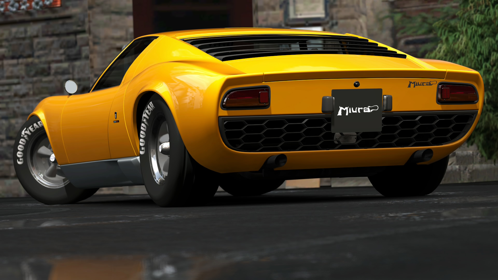 My Perfect Lamborghini Miura 3dtuning Probably The Best Car