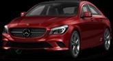 Mercedes CLA class 4 Door Coupe 2014