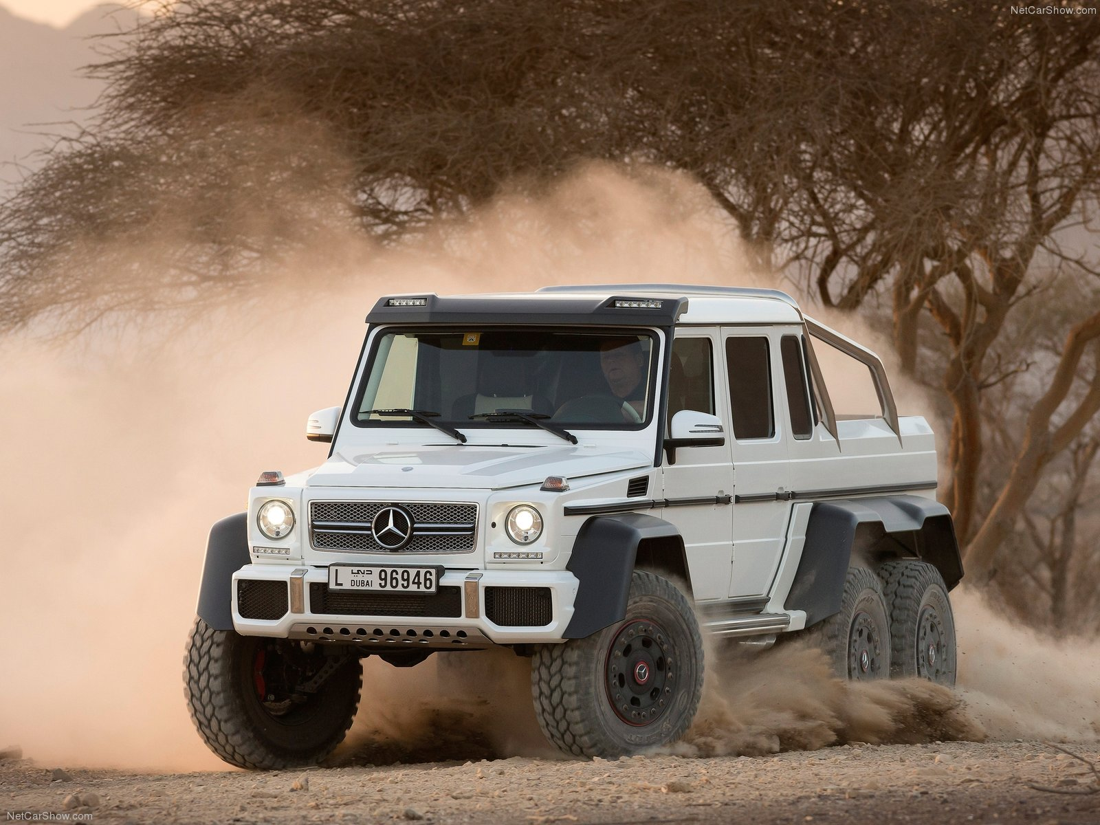 Mercedes G63 AMG 6x6 Luxury SUV 2013