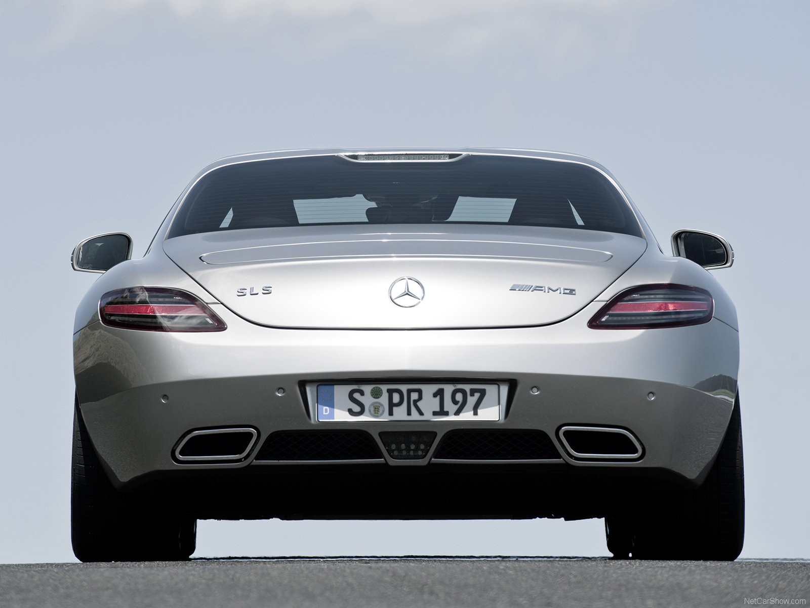 Mercedes SLS AMG Coupe 2010