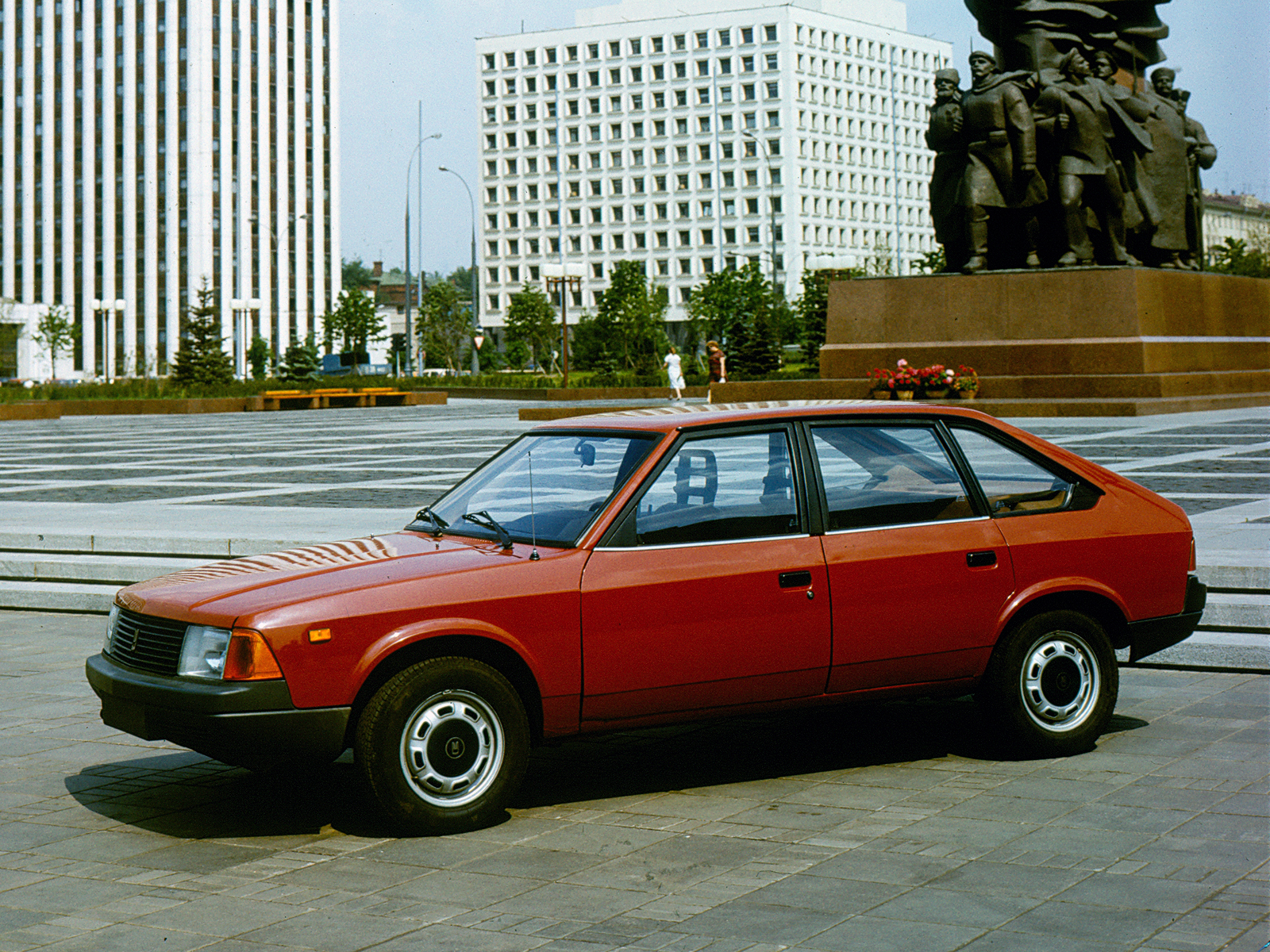 ... Moskvich 2141 5 Door Hatchback 1986 ...