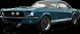 Mustang GT500 2 Door Coupe 1968