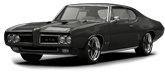 Pontiac GTO 2 Door Coupe 1968