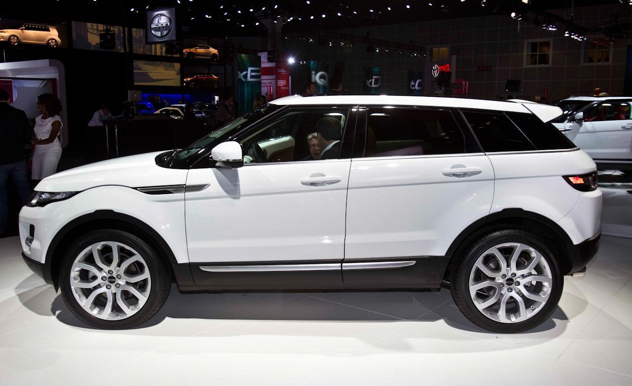 Range Rover Evoque 4 Door White - 101.1KB