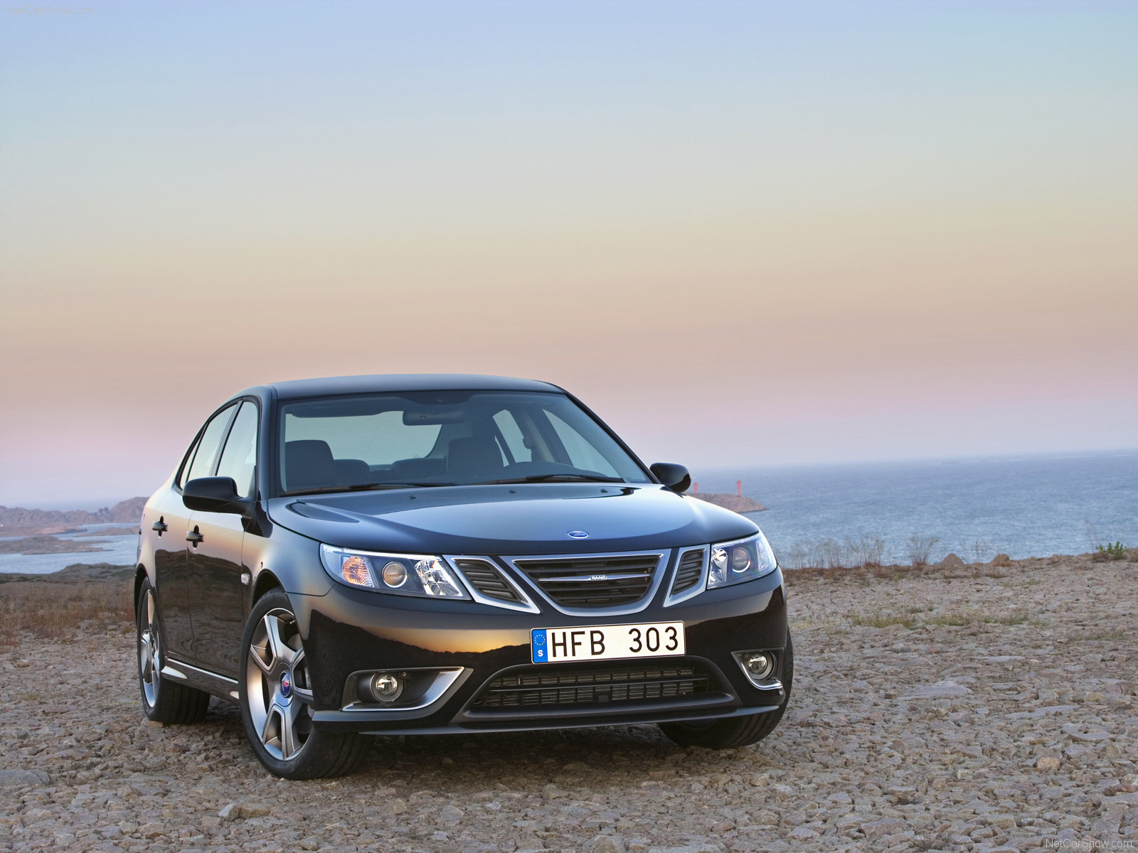 Saab 9-3 Turbo X Sedan 2011