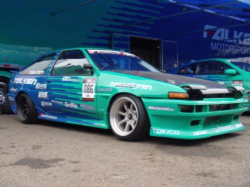 Toyota Ae86 Drift