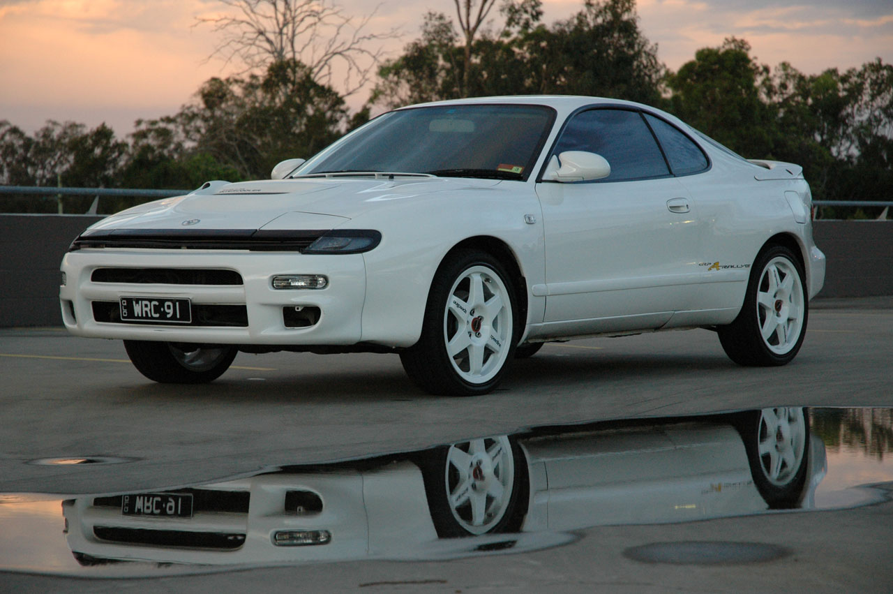 toyota celica gt four coupe 1992