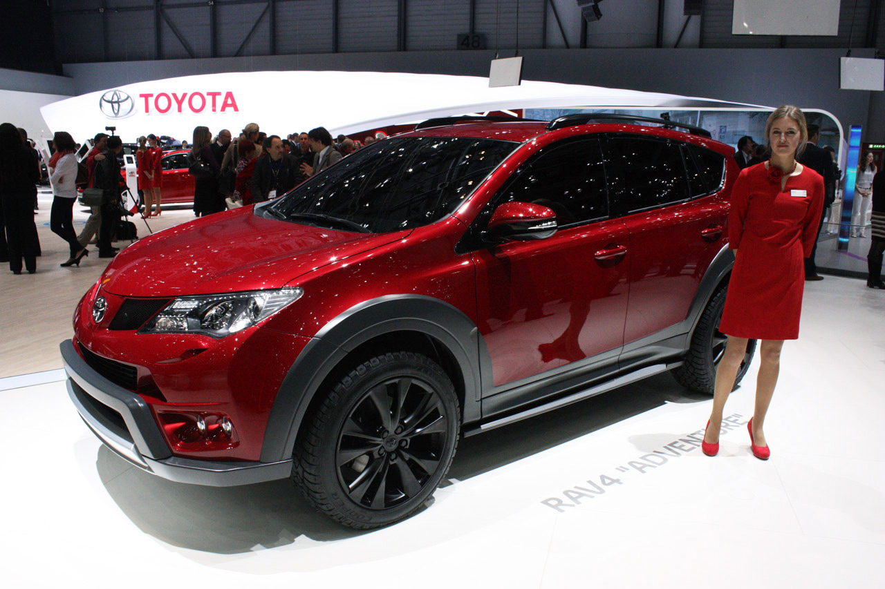 Tuning Toyota RAV4 2013 online, accessories and spare ...