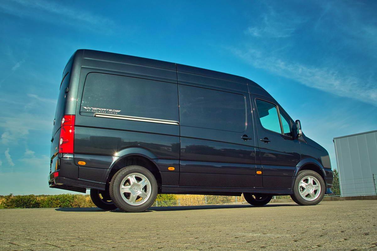 3dtuning of volkswagen crafter facelift minivan 2011. Black Bedroom Furniture Sets. Home Design Ideas